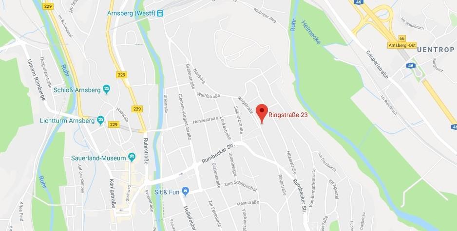 Google Maps Ringstraße 23 59821 Arnsberg